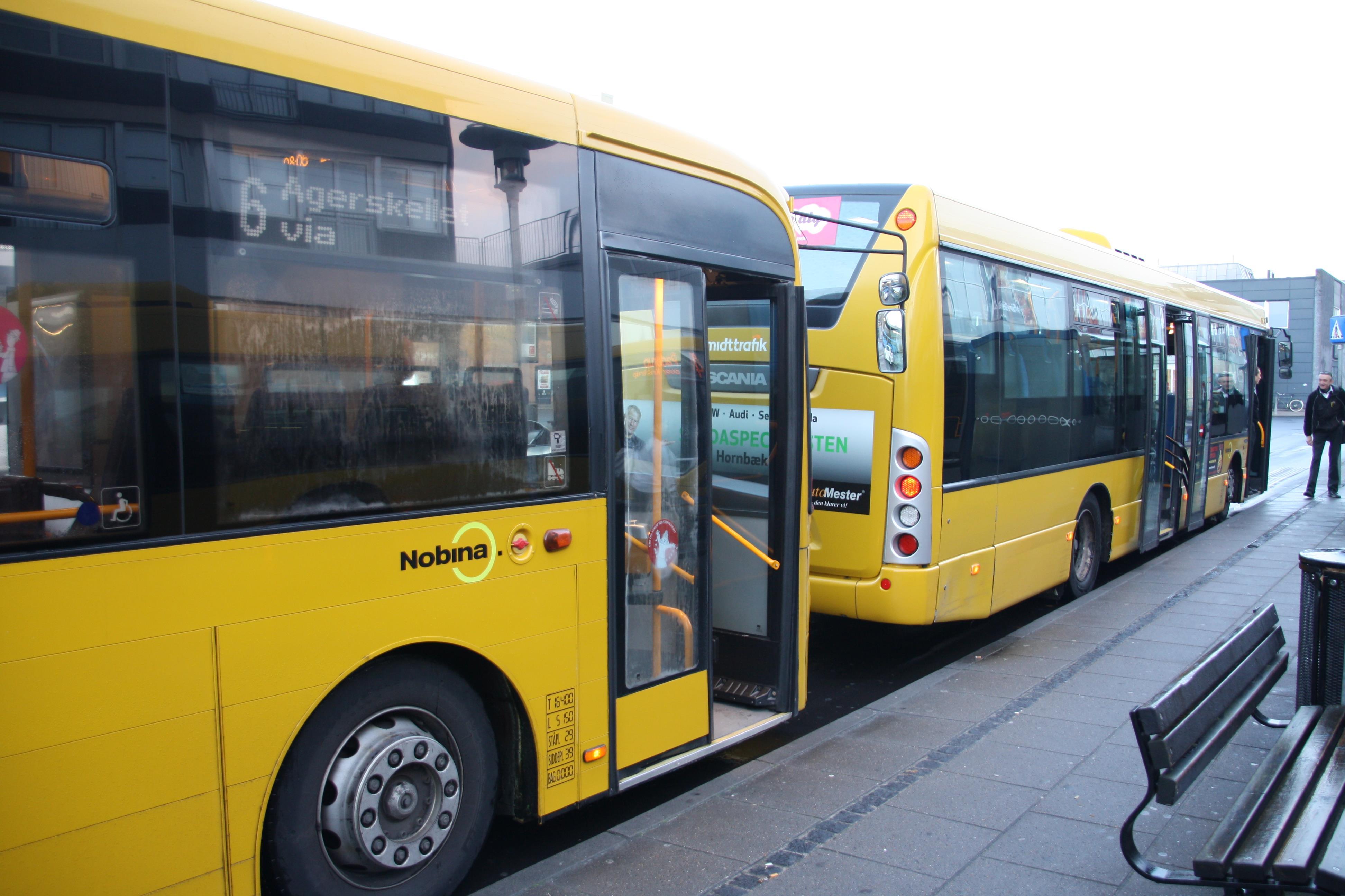 bus randers århus pris